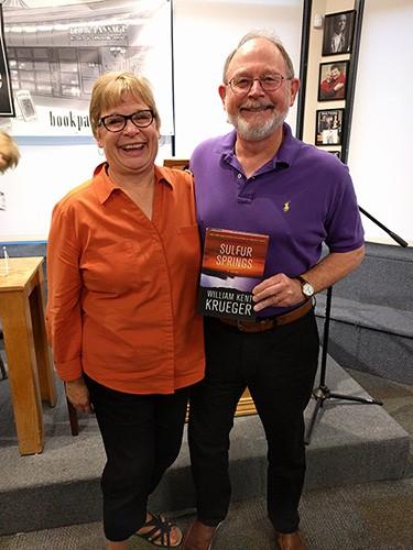 Diane and Kent Krueger