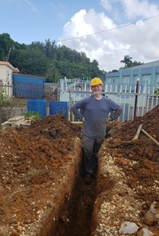 Digging a trench in PR