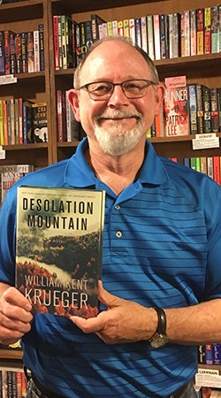 Launching DESOLATION MOUNTAIN at Once Upon a Crime