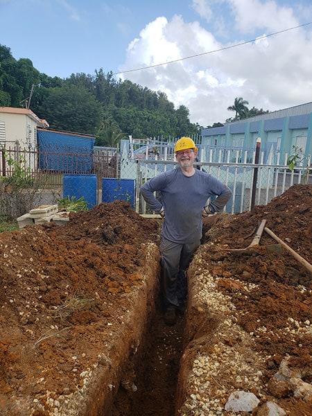 William Kent Krueger in Puerto Rico