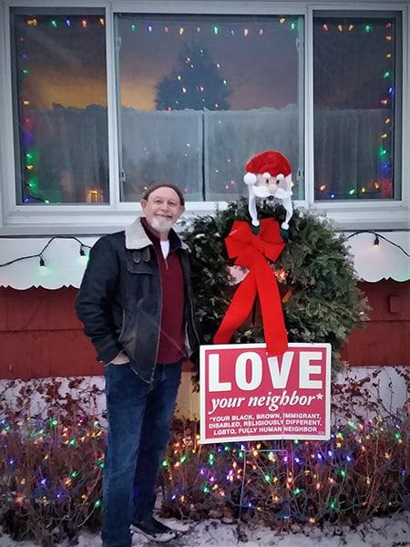 Kent Krueger and Santa